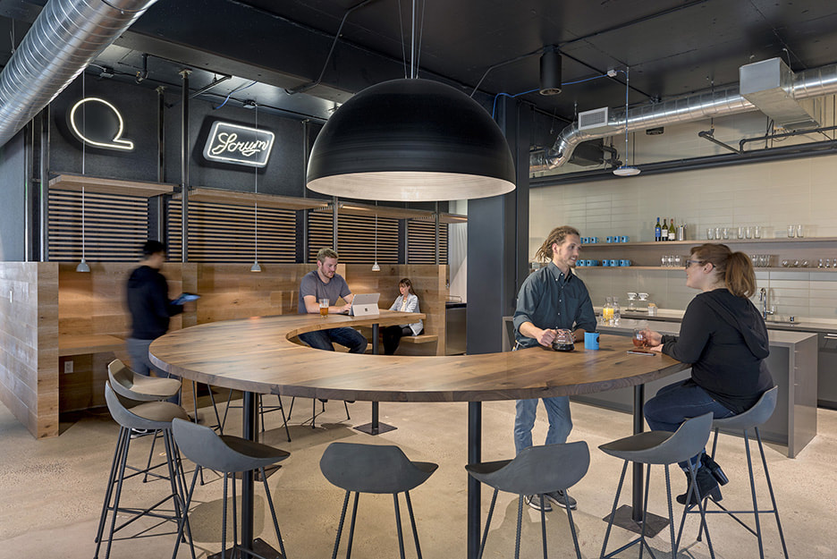 How do we create meaning in todays office spaces huntsman at workplaces for argonaut and quantcast both in san francisco ca mobile technology allows employers to offer a choice of settings to support a variety malvernweather Images